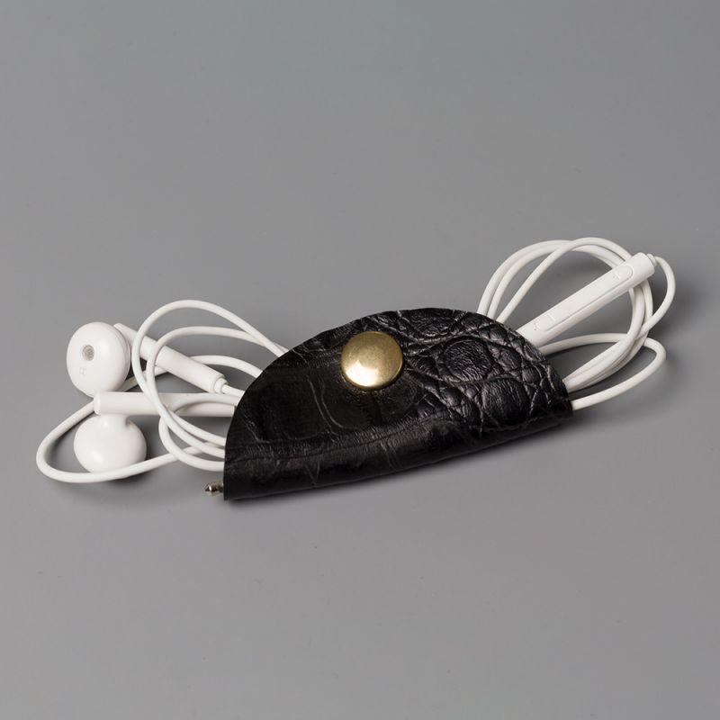 Холдър за слушалки черен