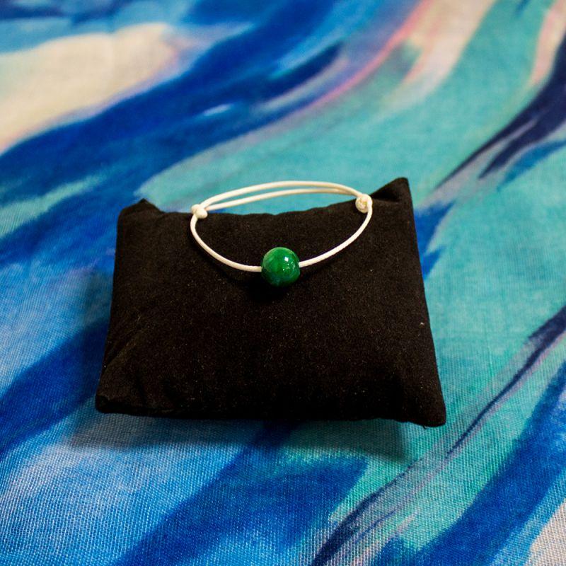 Амулет Жадеит - тъмно зелен