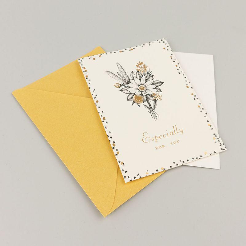 Поздравителна картичка Especially for you