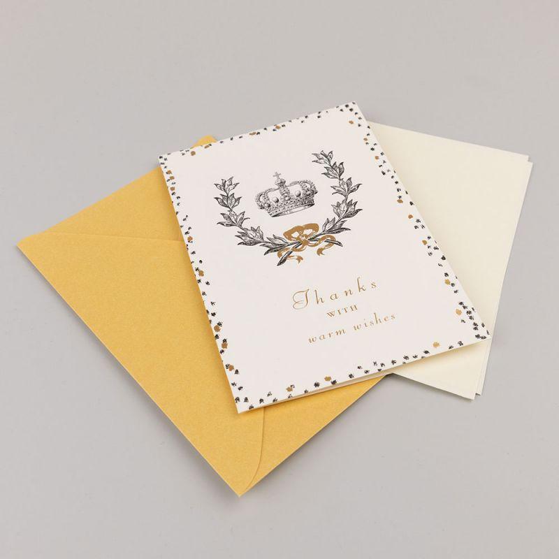 Поздравителна картичка - Thanks with worm wishes