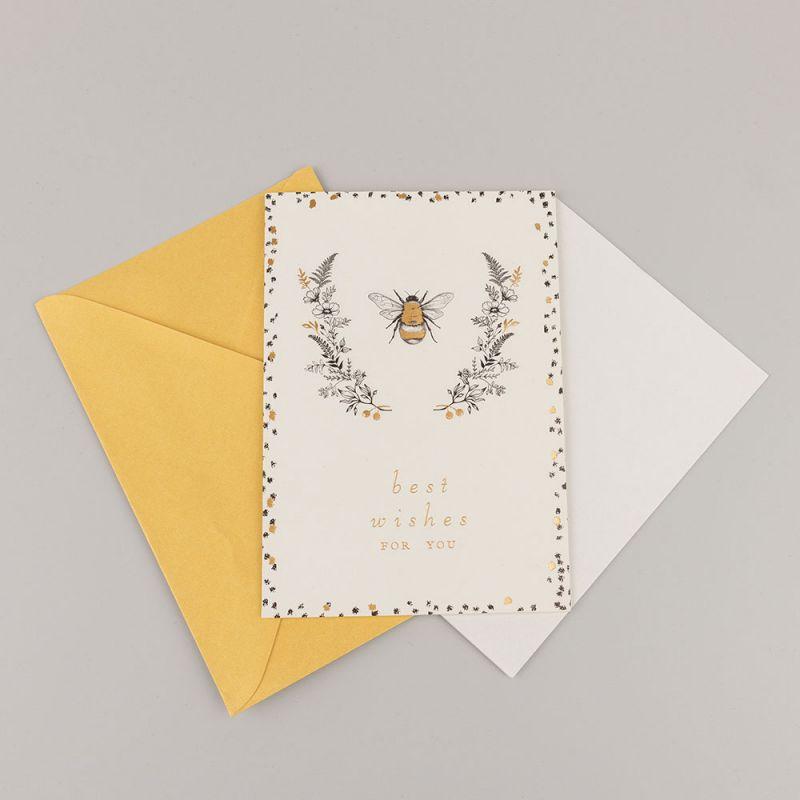 Поздравителна картичка Best wishes for you