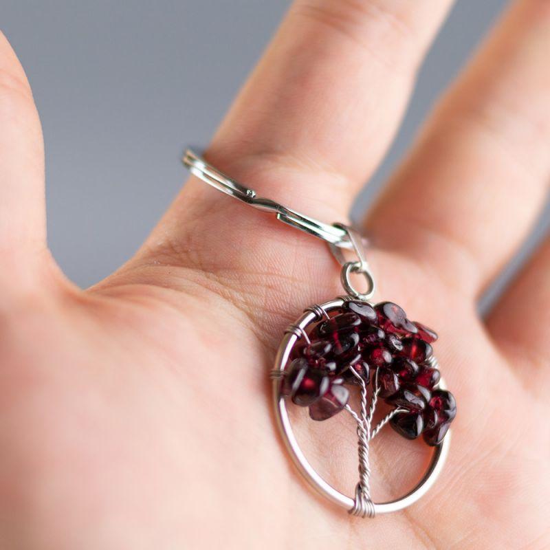 Ключодържател Дърво на Живота с Гранат