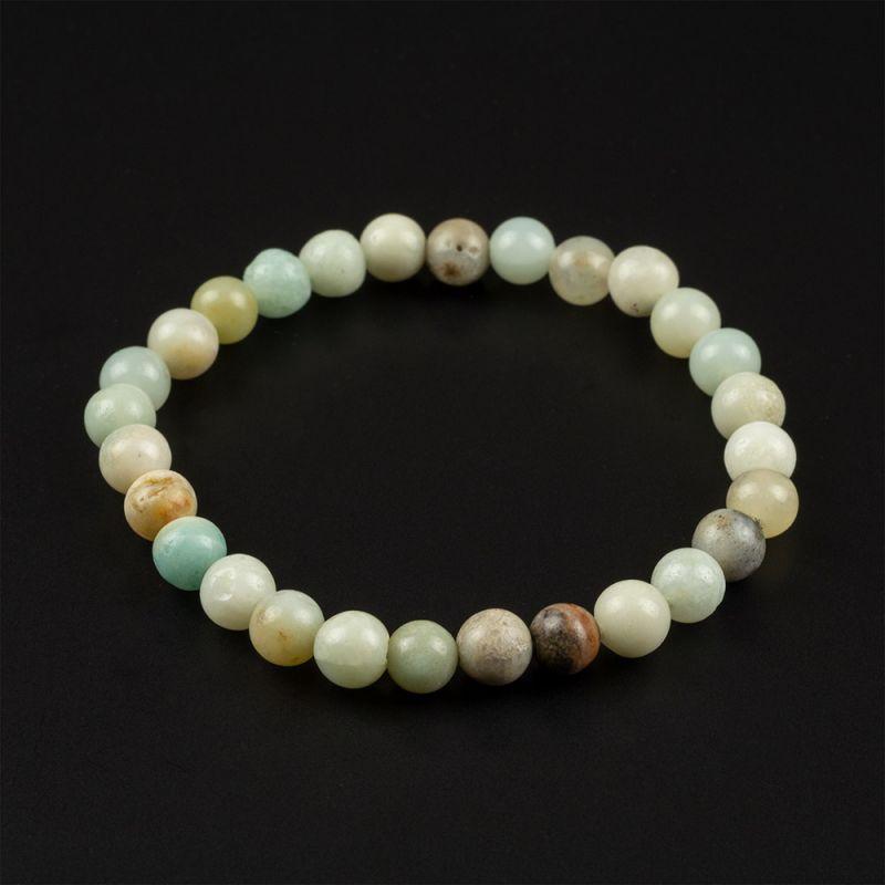 Комплект Колие и Гривна с естествени камъни Амазонит