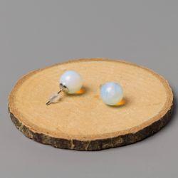 Дамски обеци с Лунен камък