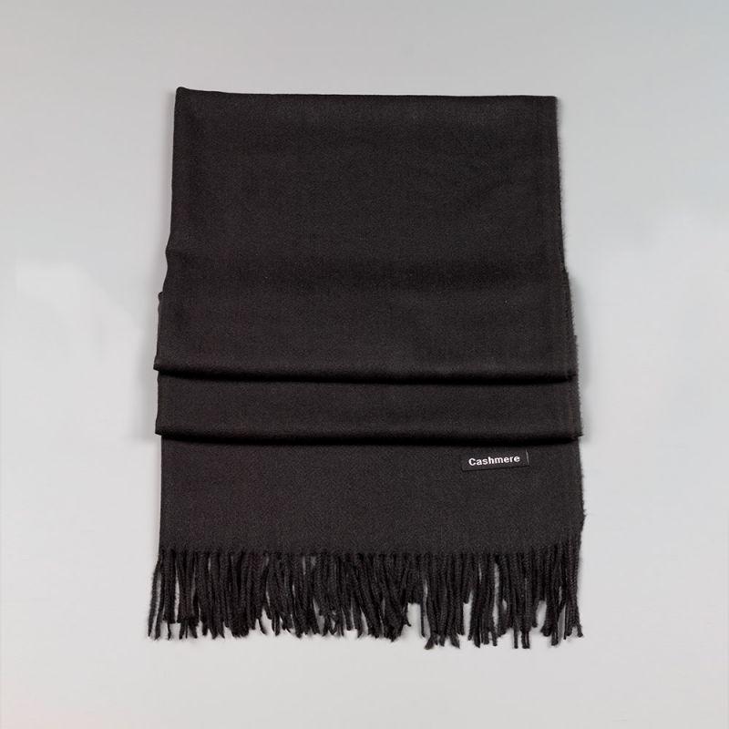 Черен дамски шал